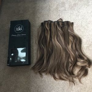 Zala hair extensions Snickers Highlights